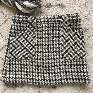 J. Crew • Tweed Wool Mini Skirt